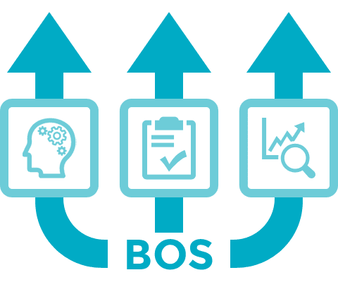 Image to illustrate what BOS enhances as a system